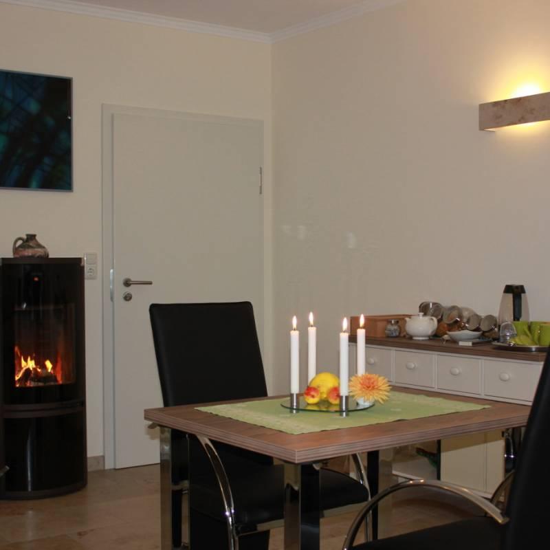 Frühstückszimmer des Haus Kallenberg