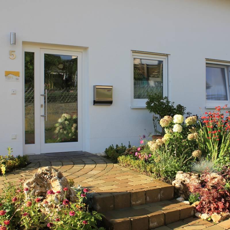 Eingang zum Haus Kallenberg